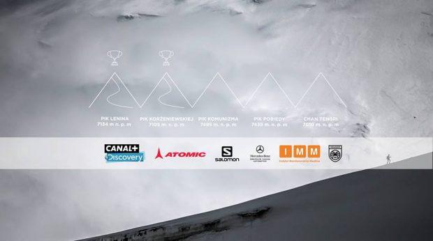 Śnieżna Pantera po 2 szczytach