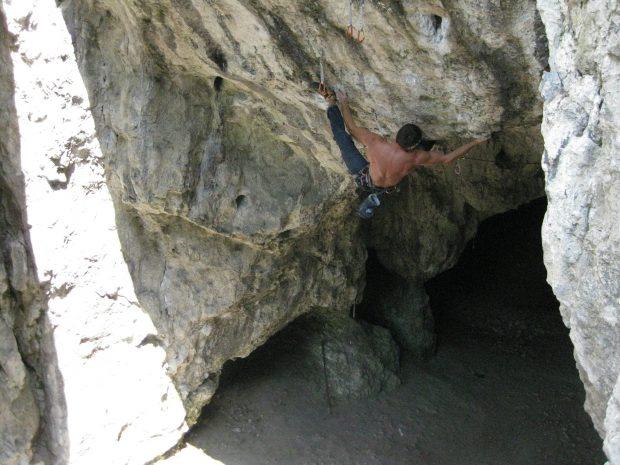 """Adam Mach podczas zeszłorocznych prób na """"Capoeirze"""" VI.8 (fot. Michał Oleksy)"""