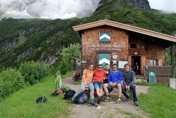 Schronisko Ackerlhütte - dobra baza wypadowa do wspinania w Wilder Kaiser (fot. wspinanie.pl)