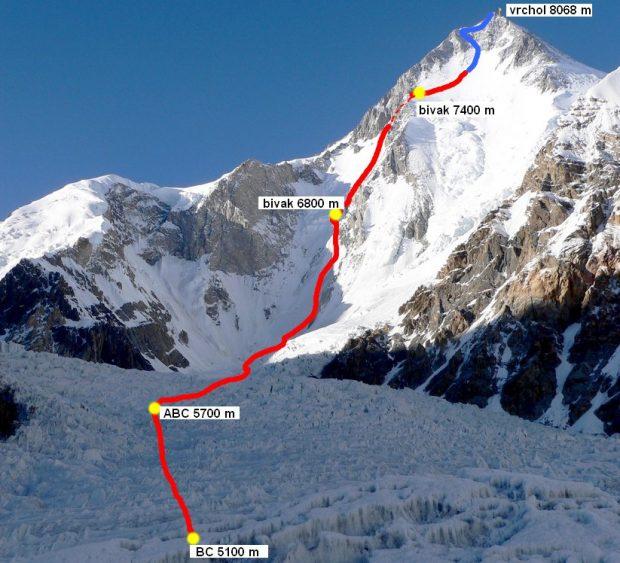 """Niedokończona """"Droga Czeska"""" na GI (fot. altitude)"""