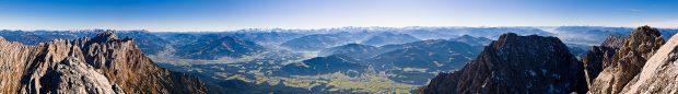 Panorama z Ellmauer Halt (fot. wilderkaiser.info / TVB Wilder Kaiser)