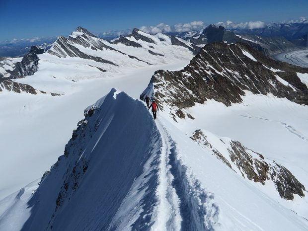 W drodze na szczyt (fot. www.kw.bielsko.org)
