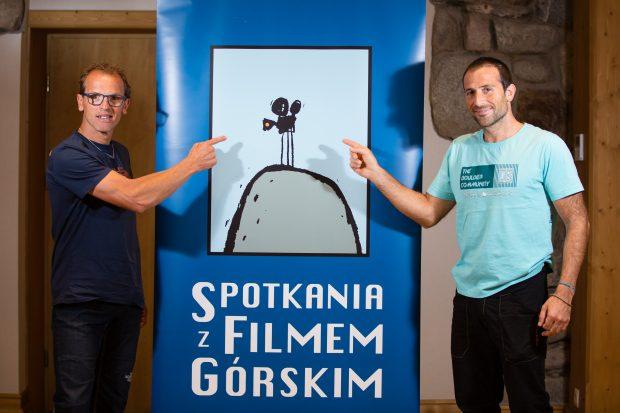 Simone Moro i Alex Txikon.(fot. Piotr Drożdż)