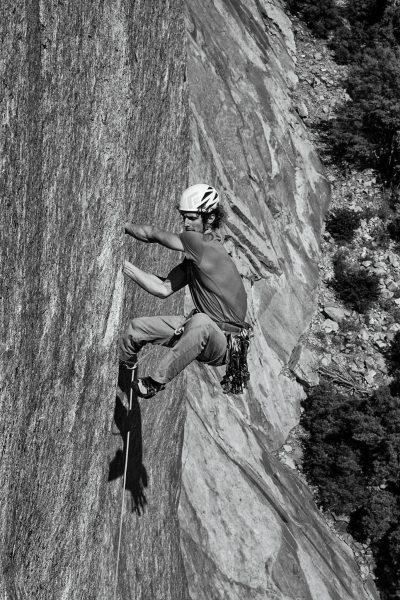 Adam Ondra na El Capitan (fot. Heinz Zak)