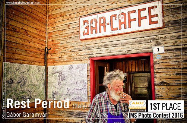 """I miejsce w kategorii """"Mountain Faces"""" - """"Rest Period"""", fot. Gábor Garamvári"""
