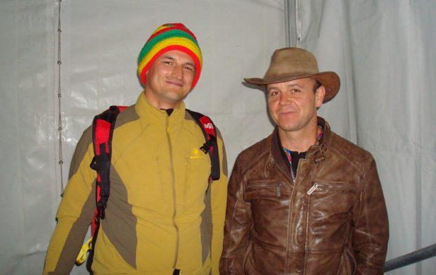 Adam Bielecki i Jacek Czech (fot. Beata Słama)