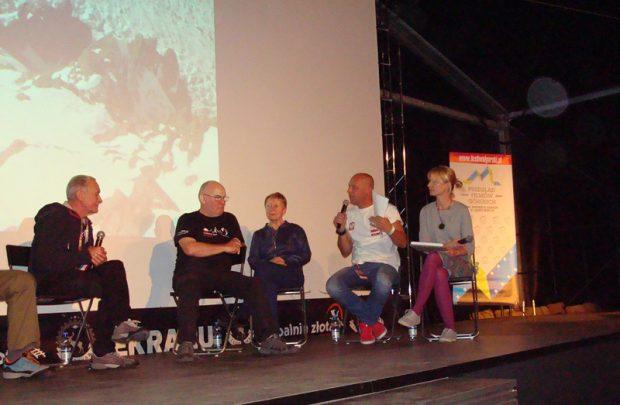 Krzysztof Wielicki, Janusz Majer, Krystyna Palmowska, Paweł Michalski, Renata Wcisło (fot. Beata Słama)