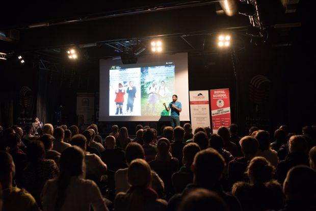 Alex Txikon na festiwalowej scenie