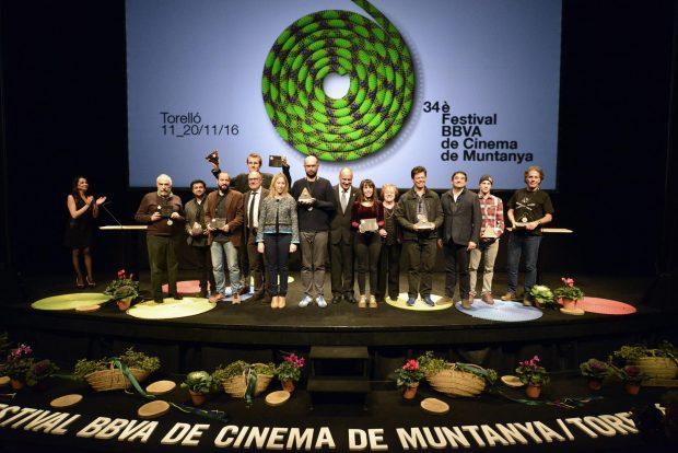 Laureaci 34. festiwalu filmów górskich w Torello