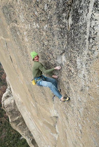 Adam Ondra na Dawn Wall