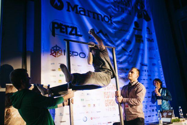 Ryszard Emilewicz w akcji podczas 13. KFG (fot. Adam Kokot)