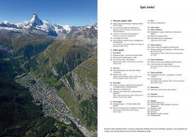"""""""Matterhorn. Góra gór"""" - spis treści"""