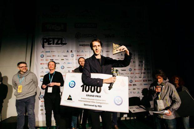 """Grand Prix KFG 2016 dla filmu """"Czarodziejska Góra"""", reż. Anca Damian (fot. Adam kokot / KFG)"""