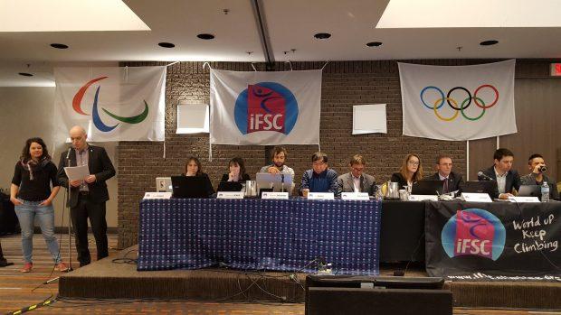 Obrady IFSC w Quebecu
