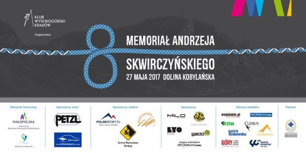 Grafika Klubu Wysokogórskiego Kraków na potrzeby 8. Memoriału Andrzeja Skwirczyńskiego / 2017 / Dolina Kobylańska