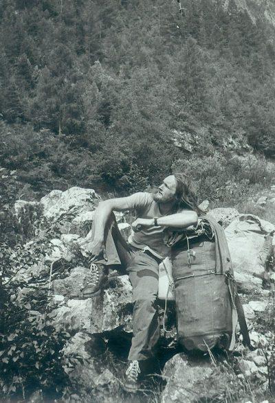 Mariusz Koras, Dolomity, 1976 (fot. arch. G. Chwoła / lojanci.org)
