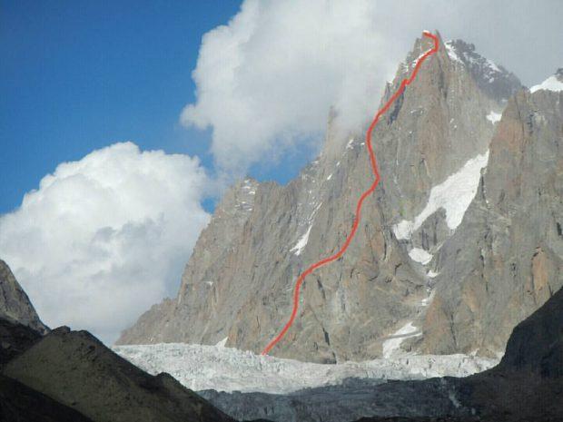 Arjuna - nowa droga na wierzchołek południowy