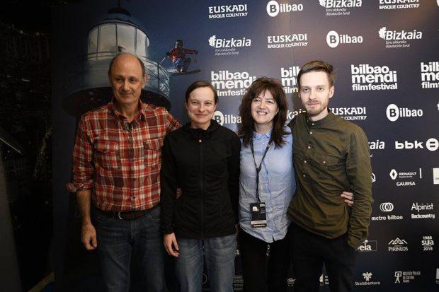 """Festiwal Bilbao gościł bohaterkę filmu """"Mama"""" Kingę Ociepkę-Grzegulską i reżysera Wojciech Kozakiewicza"""