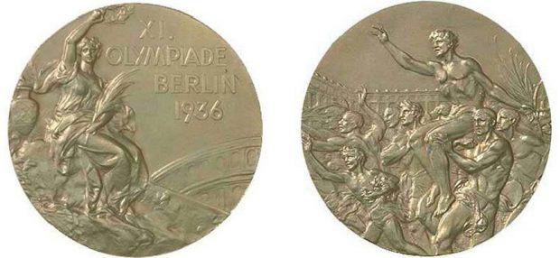 Złote medale olimpijskie na Igrzyskach w Berlinie, 1936