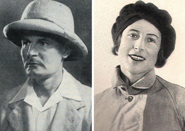 Günther Oskar Dyhrenfurth i Hettie Dyhrenfurth