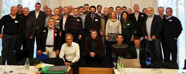 Spotkanie założycielskie EUMA, 23 listopada 2017, Monachium (fot. DAV)