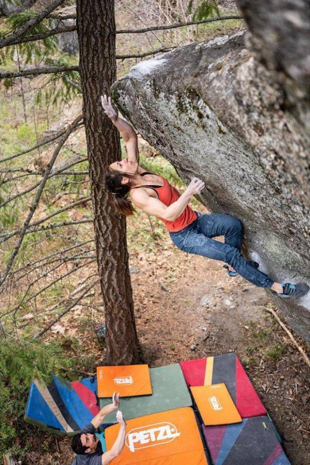 Alex Puccio na Penrose step 8B+ (fot. Joel Zerr)