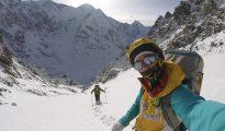 Elisabeth Revol i Tomek Mackiewicz w ataku szczytowym na Nanga Parbat