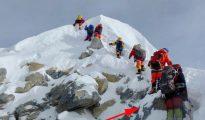 Stopień Hillarego 2018 (fot. Mingma Gyalje Sherpa)