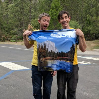 Tommy Caldwell i Alex Honnold
