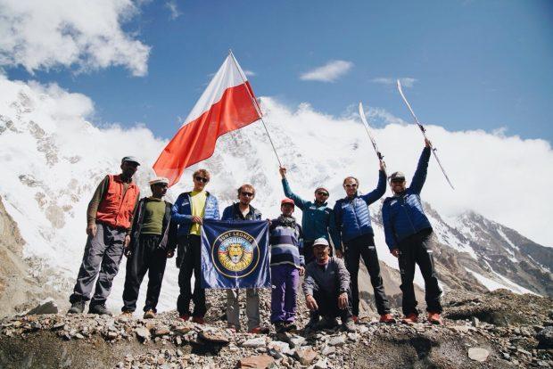 Ekipa Andrzeja Bargiela pod K2
