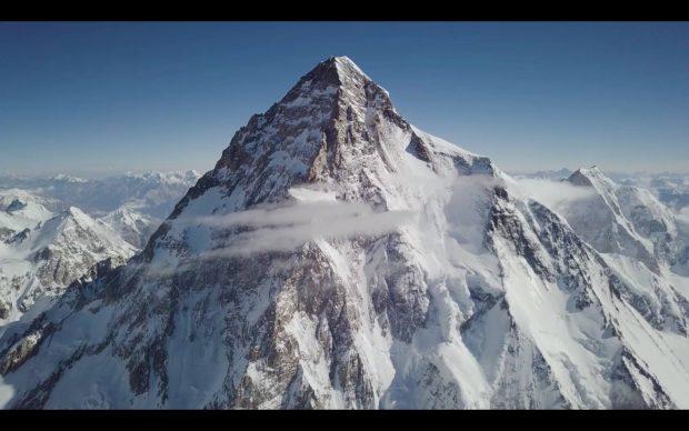 K2 widziane z drona Bartka Bargiela