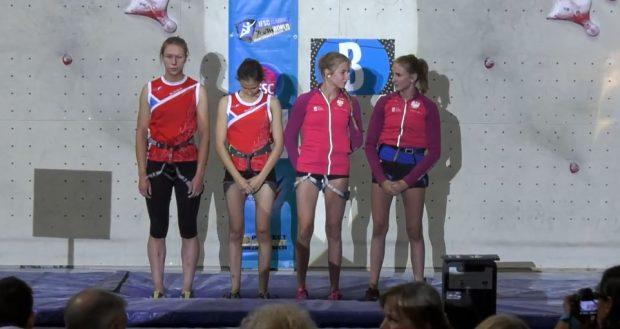 Do końcowej walki o medale przystąpiły: Daria Potapowa, Kamila Kuszajewa, Natalia i Ola Kałuckie