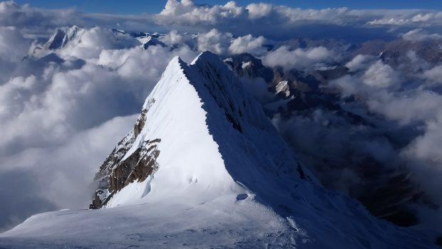 Widok z drogi na szczyt Manaslu (fot. A. Drabik)