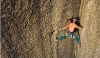 Adam Ondra na Book of Hate 5.13d (fot. Bernardo Gimenez / Visual Media)