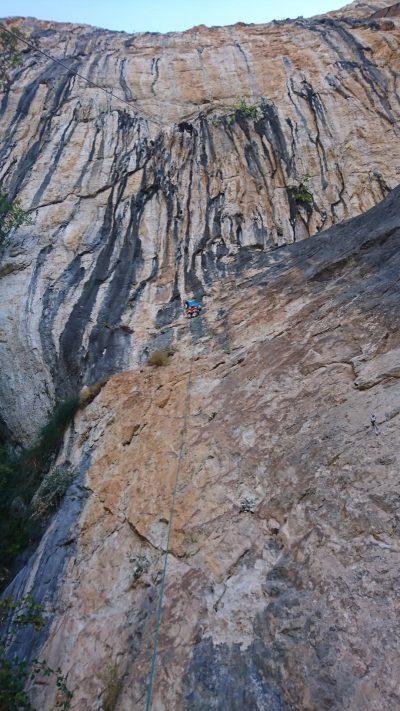Adam Ondra na Roctrip (fot. Dalmatia Climbing)