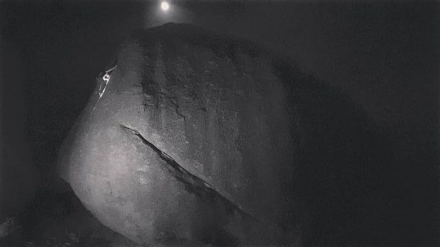Filip Babicz w nocnej akcji na Full Moon, Grandpa Peabody, Buttermilks