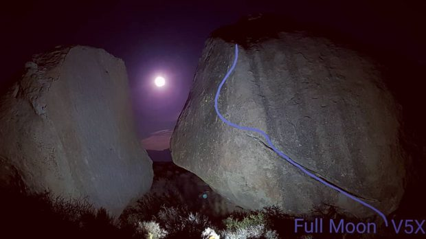 Przebieg Full Moon V5 X, Grandpa Peabody, Buttermilks (fot. Filip Babicz)
