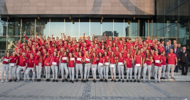Polska reprezentacja na Igrzyska Młodzieży w Buenos Aires 2018 (fot. Szymon Sikora)