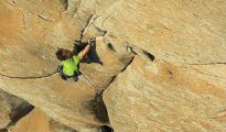 Adam Ondra na Salathe Wall (fot. Bernardo Gimenez / Visual Media)