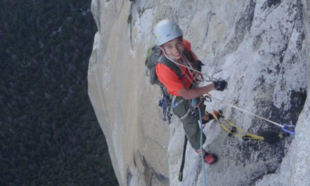 Connor Herson na El Capitan