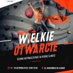 www.boulderingonline.pl Rock climbing and bouldering pictures and news Chwyciarnia – nowa ściana w Gliwicach. Dni otwarte 17-18 listopada