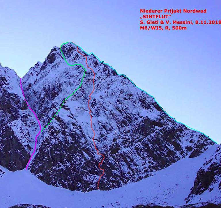 abf56083b5dbd Simon Gietl i Vittorio Messini prowadzą nową drogę w Austrii ...