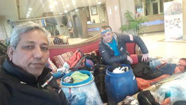 Asghar Ali Porik i Waldemar Kowalewski (fot. FB Asghar Ali Porik)