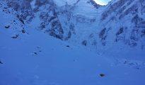 Nanga Parbat - pogoda dzisiaj jest bardzo dobra, zdjęcie z 28 lutego (fot. Pakistan Mountain News)