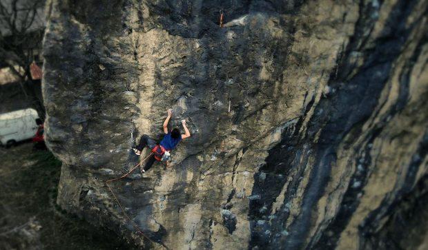 Diego Fourbet na swojej linii za 9a (fot. TLC Prod)