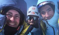 Jess Roskelley Hansjörg Auer i David Lama - ostatnie zdjęcie z telefonu Jessa