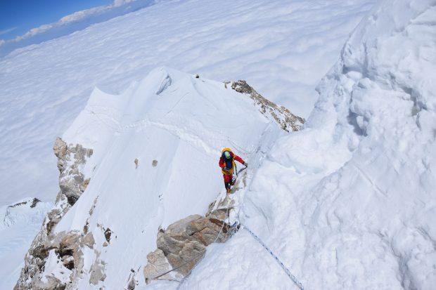 W stronę szczytu, już niedaleko... (fot. arch. Magda Gorzkowska)