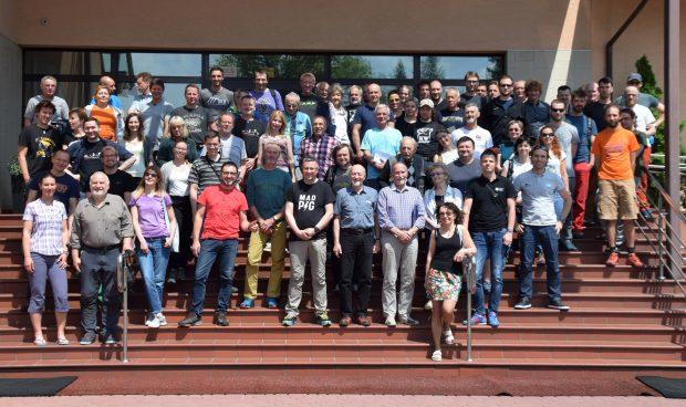 Delegaci na XXII Sprawozdawczo-Wyborczy Walny Zjazd PZA (fot. Michał Kochańczyk / PZA)