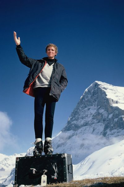 Dougal Haston na Kleine Scheidegg (© Chris Bonington Picture Library)