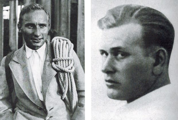 Max Sedlmayr (po lewej) i Karl Mehringer (© Heinrich Sedlmayr / AS Verlag)